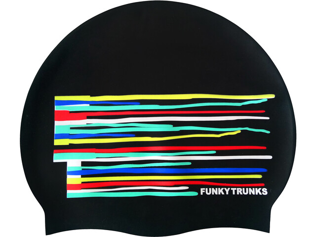 Funky Trunks Silicone Bonnet de bain, drip funk